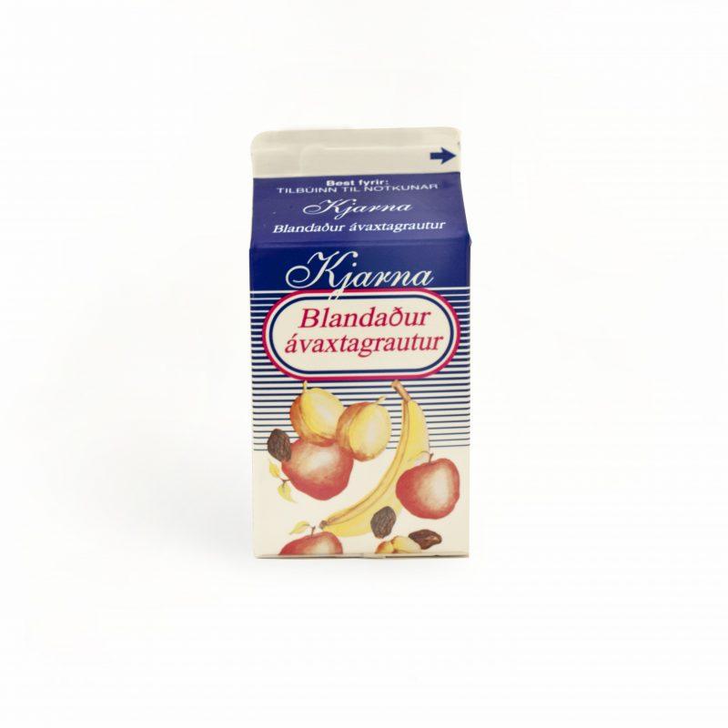 Blandaður ávaxtagrautur 0,5 ltr