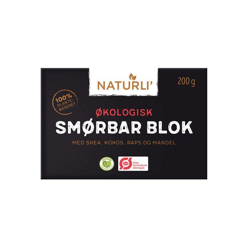 Naturli Økologisk Smørbar blok (200g / 2kg)